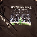 Nocturnal Rites Afterlife Longsleeve TShirt or Longsleeve