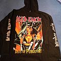 Iced Earth - Hooded Top - Iced Earth Europe Under Ice Tour 1997 Hoody