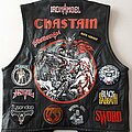 Accept - Battle Jacket - 1980s Heavy Metal Leather Kutte with Chastain painting