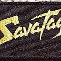 Savatage - Patch - Savatage logo patch, embroidered