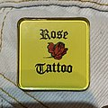 Rose Tattoo - Vintage Enamel Pin Pin / Badge