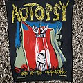 Autopsy - Acts of the Unspeakable - Vintage Back Patch