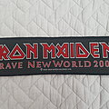 Iron Maiden - Patch - Brave New World strip patch