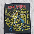 Iron Maiden - Patch - Piece Of Mind vintage patch