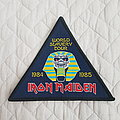 Iron Maiden - Patch - World Slavery Tour patch
