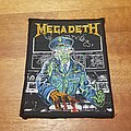 Megadeth - Patch - Holy Wars vintage patch