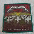 Metallica - Patch - Master of Puppets vintage patch