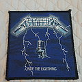 Metallica - Patch - Ride the Lightning vintage patch