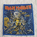 Iron Maiden - Patch - Live After Death vintage patch