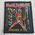 Iron Maiden - Patch - Somewhere In Time vintage patch
