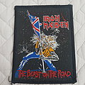 Iron Maiden - Patch - The Beast on the Road vintage patch