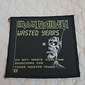 Iron Maiden - Patch - Wasted Years vintage patch