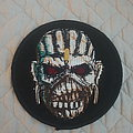 Iron Maiden - Patch - The Book of Souls Eddie patch