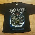 """Iced Earth """"Tribute to the Gods"""" Concert Shirt 2002"""