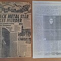 Burzum - Other Collectable - Russian Black Metal Zine from the middle of 90's