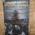 Napalm Death - Tape / Vinyl / CD / Recording etc - Naplm Death - Russian–Baltic Tour Poster