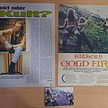Bathory - Other Collectable - Bathory pages from magazines from 90's
