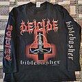 Deicide - TShirt or Longsleeve - Deicide Biblebasher 2000 Long Sleeve