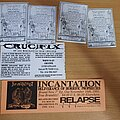 Incantation - Other Collectable - Metal flyers from early 90's