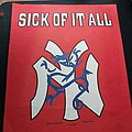 Sick Of It All - Patch - Sick Of It All 1995 Backpatch