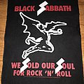 Black Sabbath back patch