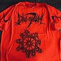 "DEUS MORTEM - ""Darknessence"" red T-Shirt"