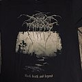 "DARKTHRONE - ""Black Death and Beyond"" tshirt"