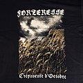 """Forteresse - TShirt or Longsleeve - FORTERESSE - """"Crépuscule d'octobre"""" official tshirt"""