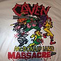 Never worn Mcdonaldland Massacre TShirt or Longsleeve