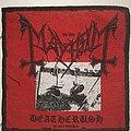 Mayhem - Patch - Mayhem - Deathcrush, Patch