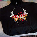 Self painted Celtic frost hoodie Hooded Top