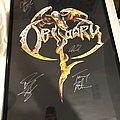 Obituary Signed Poster Other Collectable