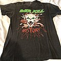 Overkill we came to shred 1988 TShirt or Longsleeve