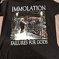 Immolation TShirt or Longsleeve