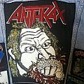 Anthrax 'Fistful Of Metal' Backpatch