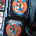 Anthrax 'State of Euphoria' patches