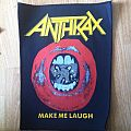 Anthrax 'Make Me Laugh' Backpatch