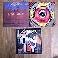 "Anthrax 7"" Vinyl Tape / Vinyl / CD / Recording etc"
