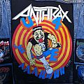 Anthrax 'State of Euphoria' Backpatch, 1988