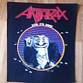 Anthrax 'Now It's Dark' backpatch, 1989