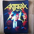 Anthrax 'Among The Living' Backpatch