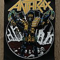 Anthrax - Patch - Anthrax - Judge Dredd backpatch 1987