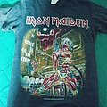 Iron maiden 1986 somewhere in time tour shirt