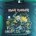Iron maiden no prayer on the road 1991 tour shirt