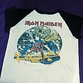 iron maiden world tour 1982 the number of the beast usa tour  TShirt or Longsleeve