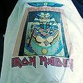 Iron Maiden Vintage 1985 Powerslave World Slavery Tour Shirt