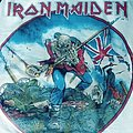 Iron maiden british metal onslaught 1983  3/4 jersey
