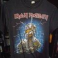 Iron Maiden - TShirt or Longsleeve - Iron maiden powerslave american tour 1984