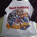 Iron Maiden - TShirt or Longsleeve - Iron maiden the number of the beast world tour 82