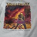 Megadeth - TShirt or Longsleeve - Megadeth hard rock cafe 1990 promo